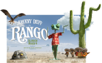 Poster for Rango the movie