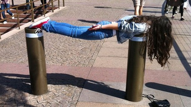 planking pictures fad. Get you plank on!