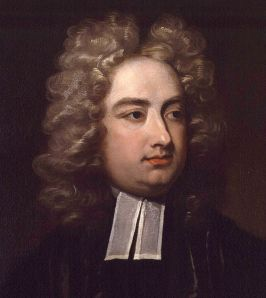 Jonathan Swift: when center partings were in